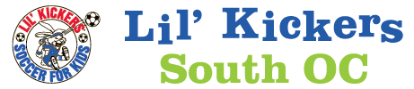 Lil' Kickers South OC Mobile Retina Logo